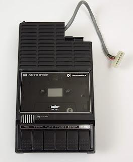 Sanyo M1540A cassette tape recorder (modified)