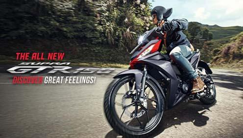 Spesifikasi dan Harga Honda Supra GTR 150 Terbaru