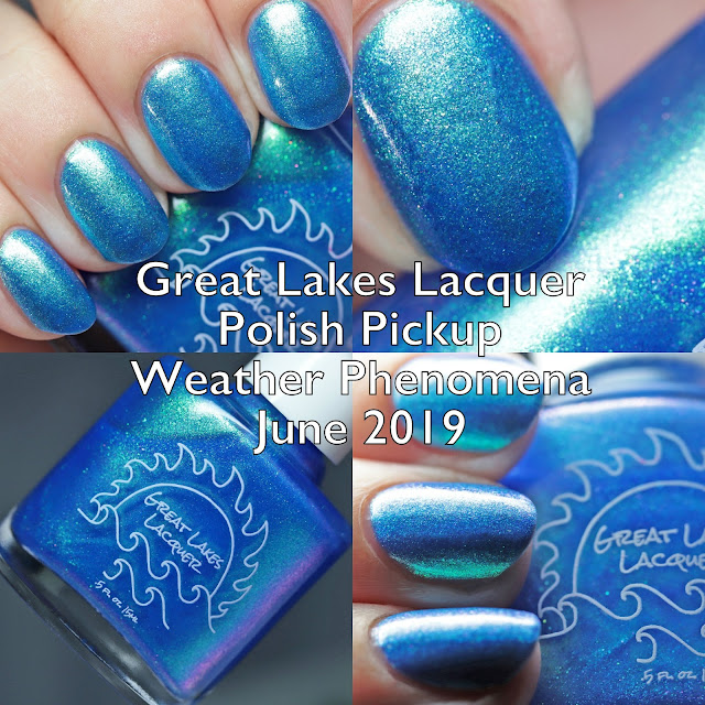 Great Lakes Lacquer Polish Pickup Weather Phenomena June 2019
