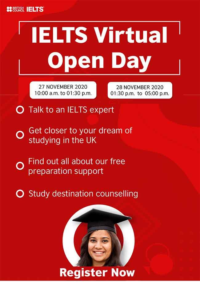 IELTS Virtual Open Day