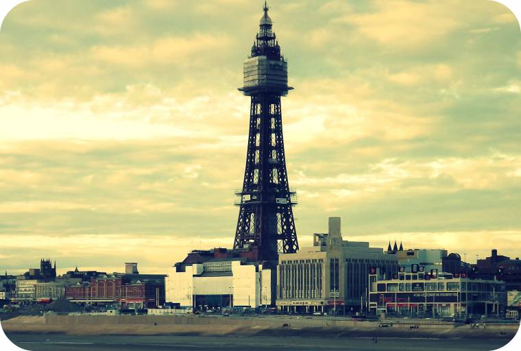Wordless Wednesday Linky: Blackpool With A Filter
