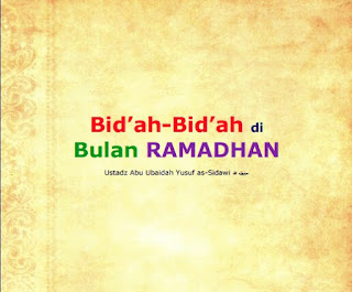Download eBook Bidah Bidah di Bulan Puasa Ramadhan PDF