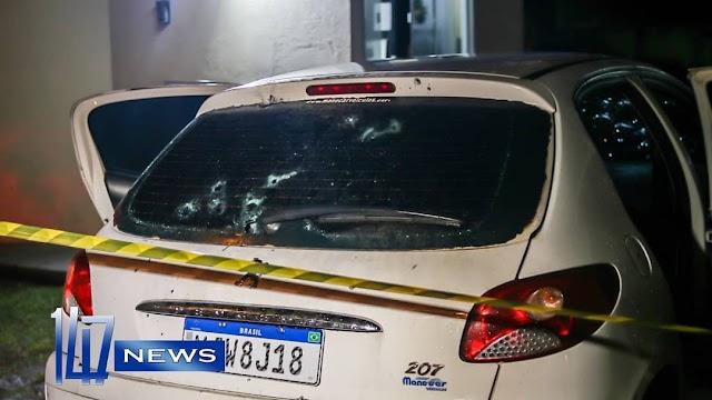 Casal e fuzilado dentro de carro no Guaraituba em Colombo