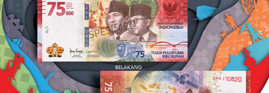 Uang Khusus Peringatan 75 Tahun Kemerdekaan RI