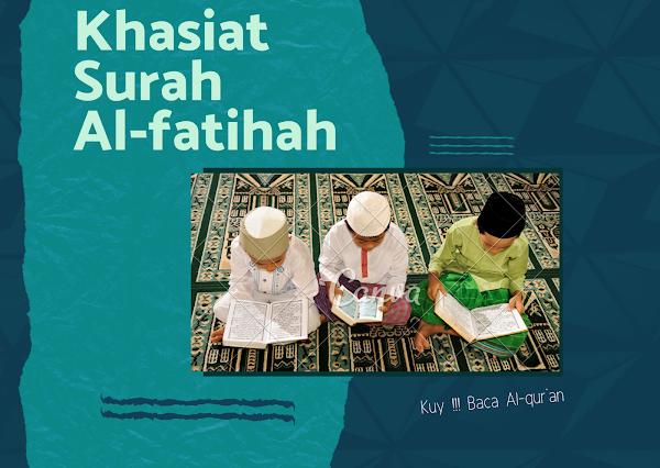 Mengenal KHASIAT Surah Al-Fatihah (ustadz labib mz)