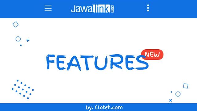 Update : fitur baru pada jawalink.com