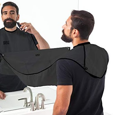 Beard Bib Hair Clippings Catcher
