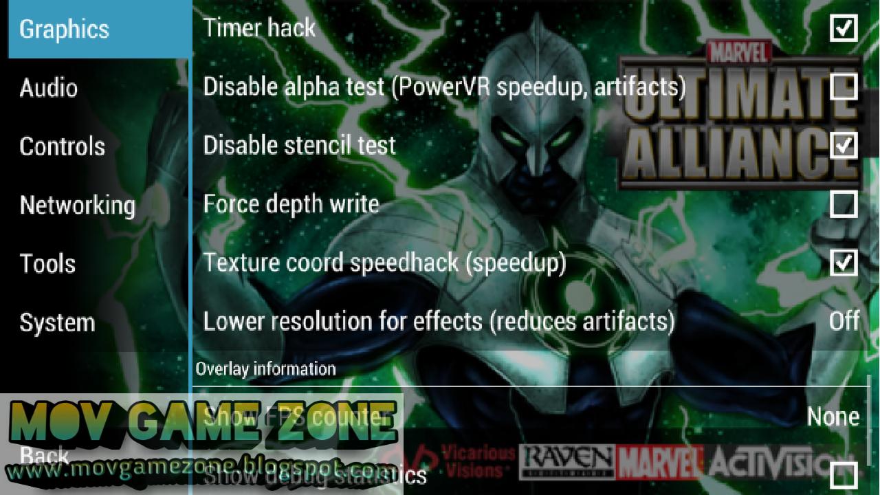 Marvel Ultimate Alliance Psp Cso