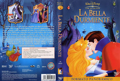 Carátula dvd: La bella durmiente