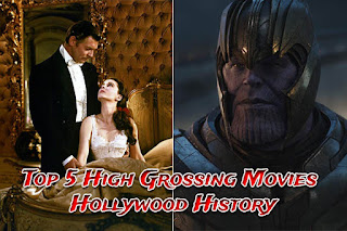 Top 5 High Grossing Movies Hollywood History