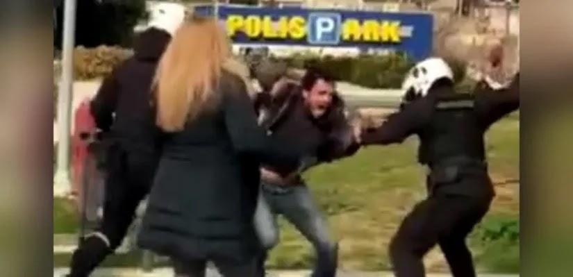 Άλσος Νέας Σμύρνης: Έφοδος  κατά οικογενειών - Κυνήγησαν πολίτες με γκλόμπ! (vid)