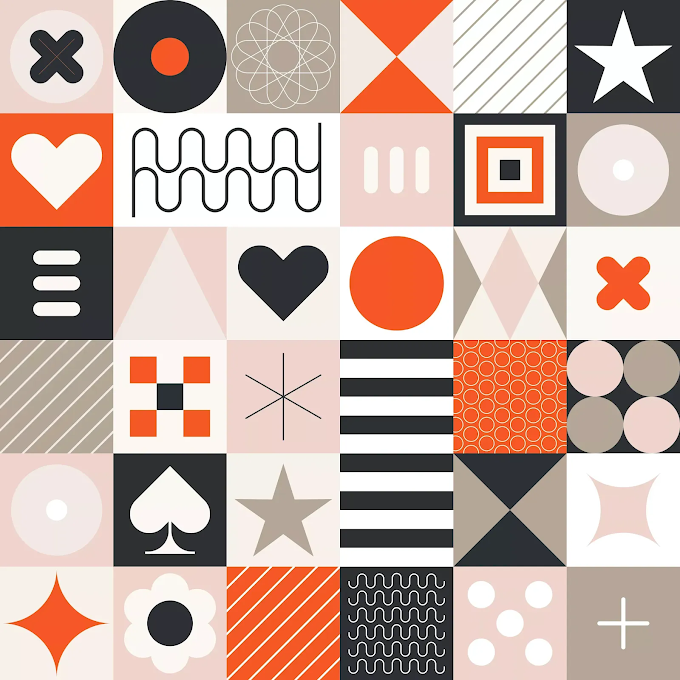 Abstract Geometric Pattern, Seamless Background Free Download