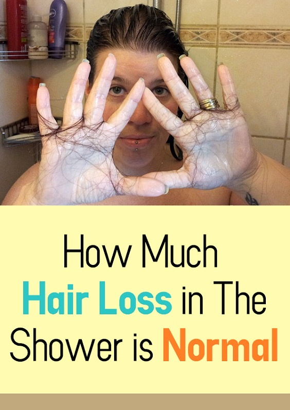 How Much Hair Loss In The Shower Is Normal Beautypro Club
