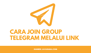 Cara Join Group Telegram Melalui Link