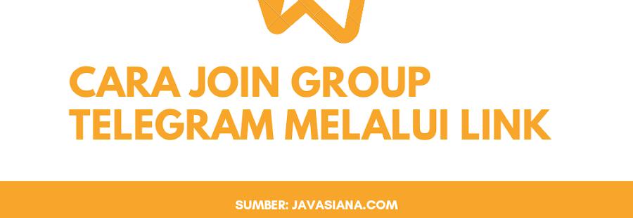 Cara Join Group Telegram Melalui Link Undangan
