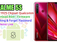 Download Rom Official / Flashing Realme 5s Rmx1925 Qualcomm Lupa Password, Pola, Fix Demo Live