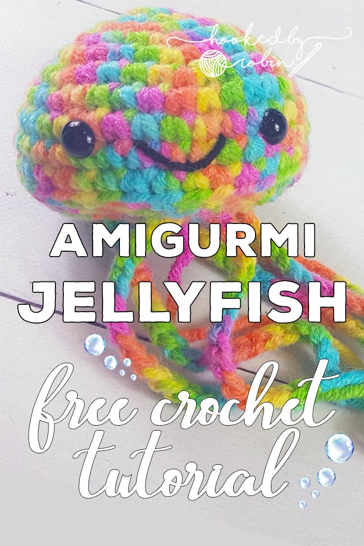 Crochet Jellyfish ~ FREE PATTERN! – Heart2Stitch | 1102x735