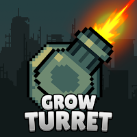 Grow Turret - Idle Clicker Defense Unlimited Gold MOD APK