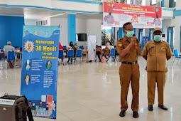 Tinggal Wusono Sebut Stok 800 Dosis Vaksin Sinovac Selama Gebyar Vaksinasi di Jayawijaya