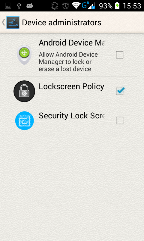 Sesiones frikis: Secure screen lock android: Security Lock
