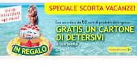 Logo Speciale Scorta Vacanze di Casa Henkel : gratis 1 cartone di detersivi a tua scelta