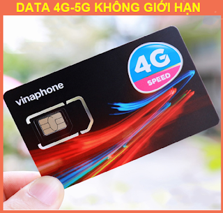 Sim 4G Vinaphone Trọn gói 1 Năm, Không giới hạn dung lượng