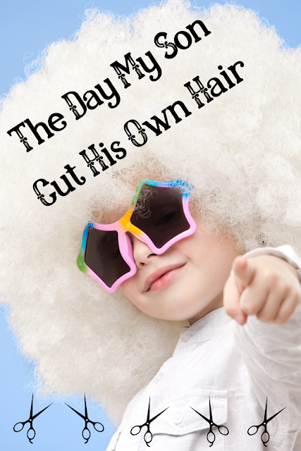 A Mom2MomEd Story: The day my son cut his own hair