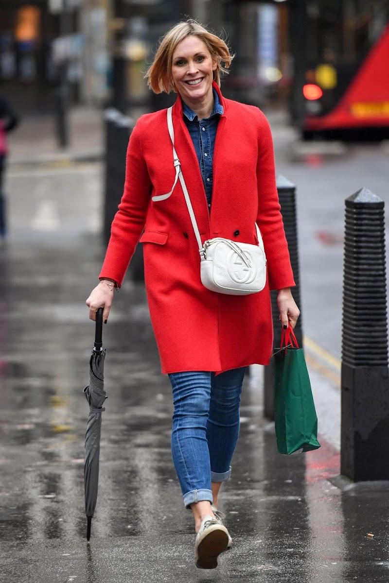 Jenni Falconer Leaves Global Radio in London 23 Dec-2020