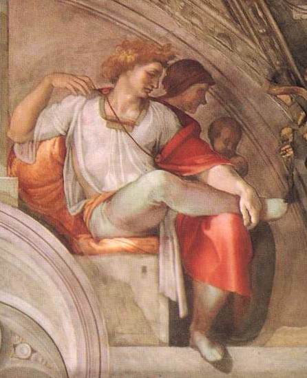 Michelangelo Buonarroti 1475-1564 | Mattan and Eleazar