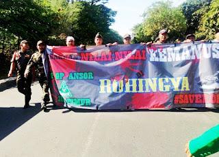 Ansor_jatim_rohingya