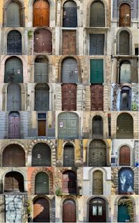 40 Doors of Bergamo Italy - A Pattern Language