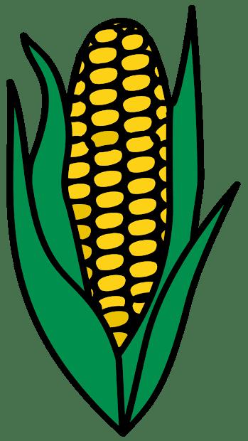 surprising corn clipart