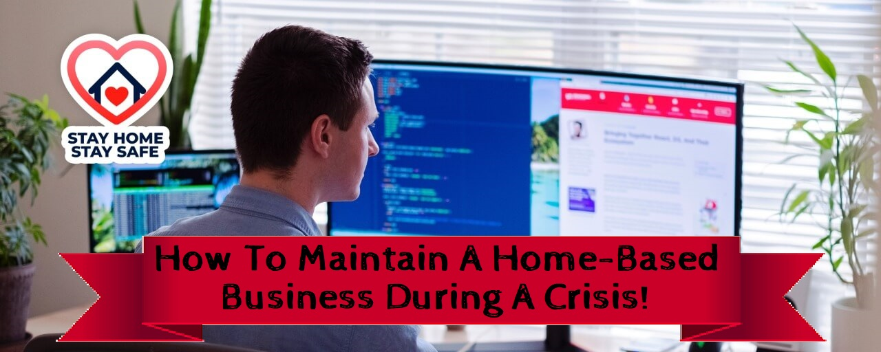 trying to work from home during a crisis