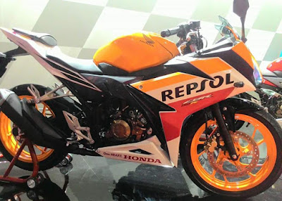 Honda CBR150R 2016 Repsol