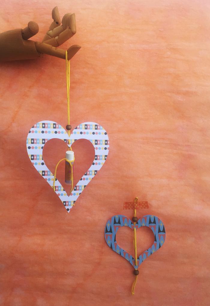 valentines day, valentines, mid-century heart ornament, heart ornament, valentines gift