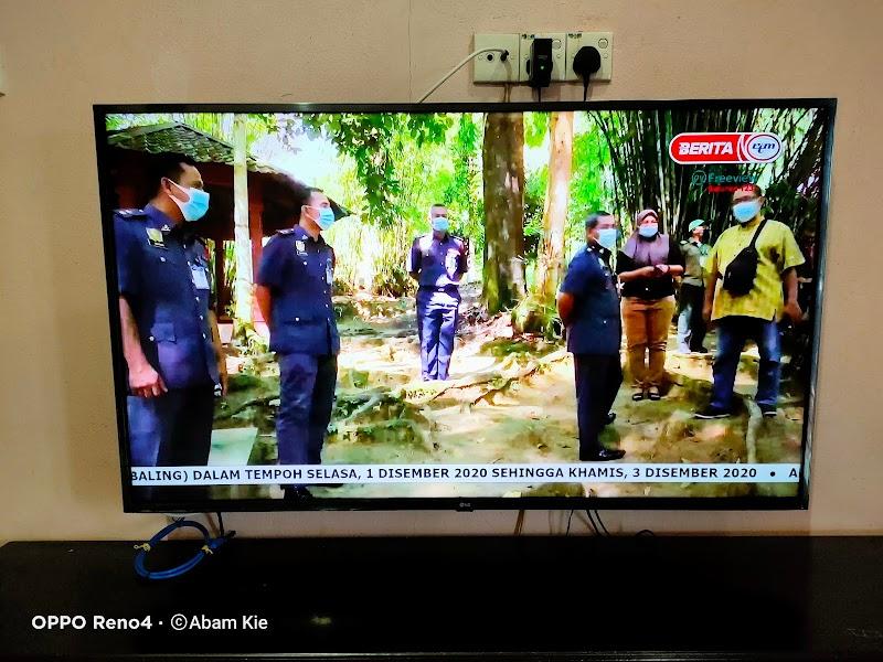 Menonton siaran TV dengan kualiti HD