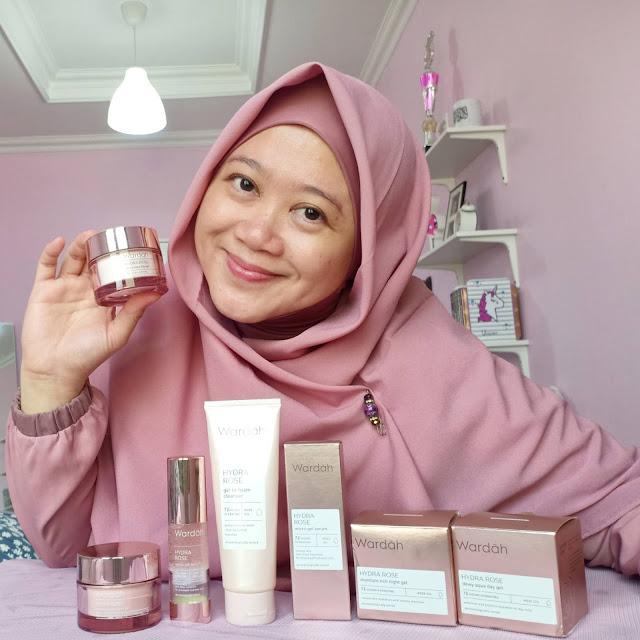 Wardah Hydra Rose Skincare Untuk Kulit Kering Dan Dehidrasi