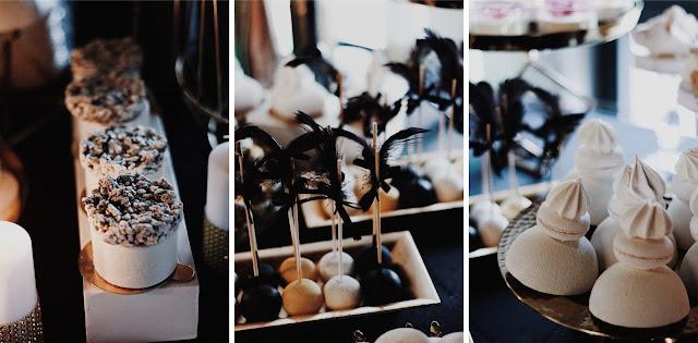 Alternatywne Targi Ślubne w Gdańsku Słodki stół, cukiernia,słodkości, Capuccino Cafe Sopot sweets candy bar Great Gatsby lata 20 dwudziestolecie miedzywojenne
