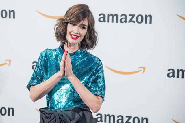 Paz Vega At Amazon Celebrates Black Friday At Callao City Lights In Madrid