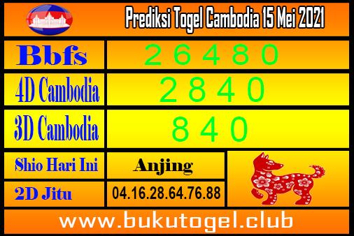 Prediksi Togel Cambodia 15 Mei 2021