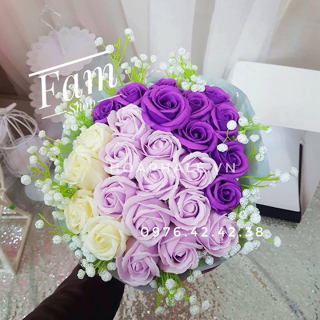 Hoa hong sap thom vinh cuu tai Lieu Giai