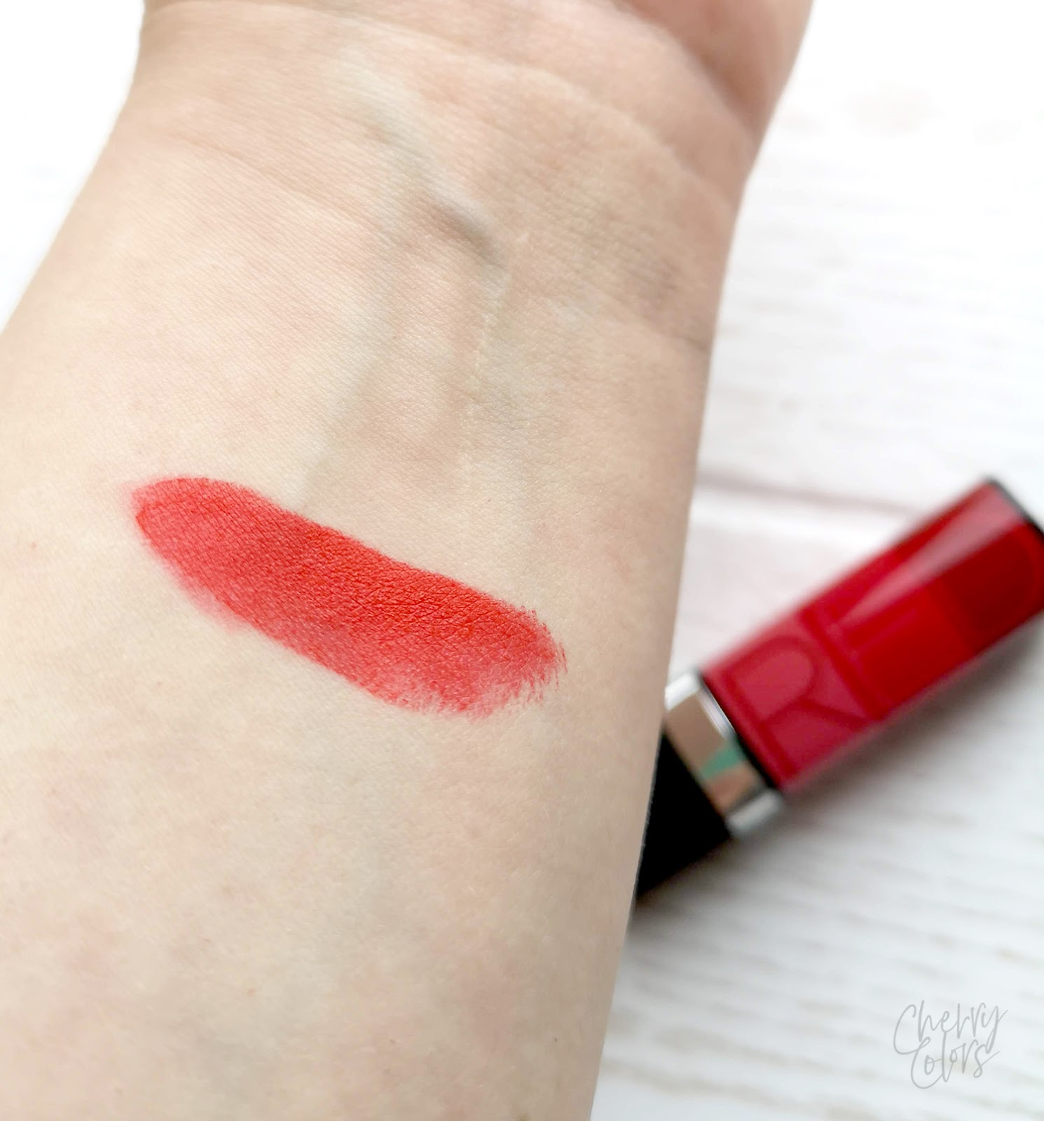 Avon red lipstick