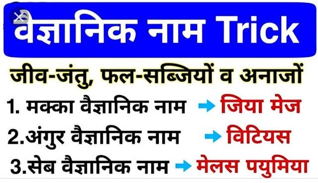 फलों जीव जंतुओं के वैज्ञानिक नाम PDF    All scientific name list in hindi pdf