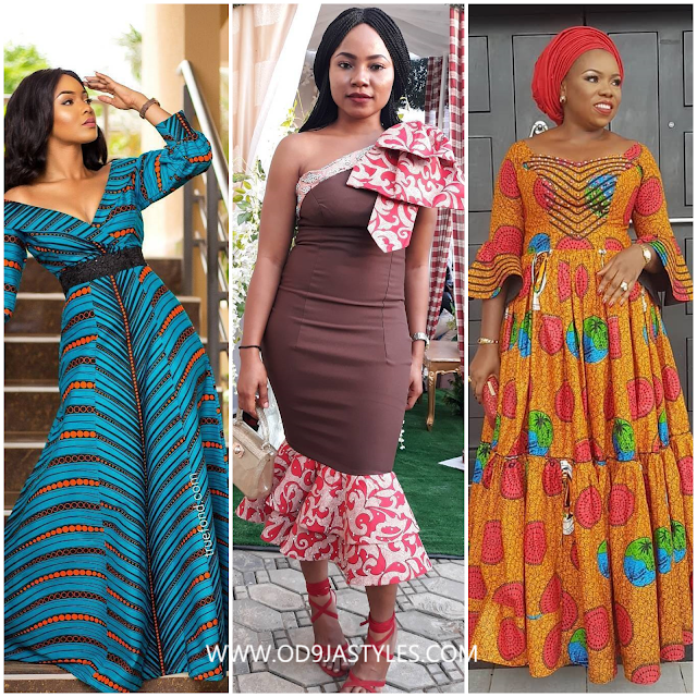 Latest Ankara Fashion Style 2018: Gowns, Dresses and Tops (Od9jastyles)