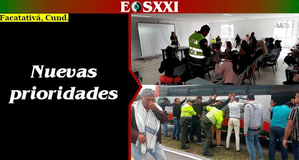 Policía prioriza controles en carretera y a trabajadoras sexuales en Facatativá