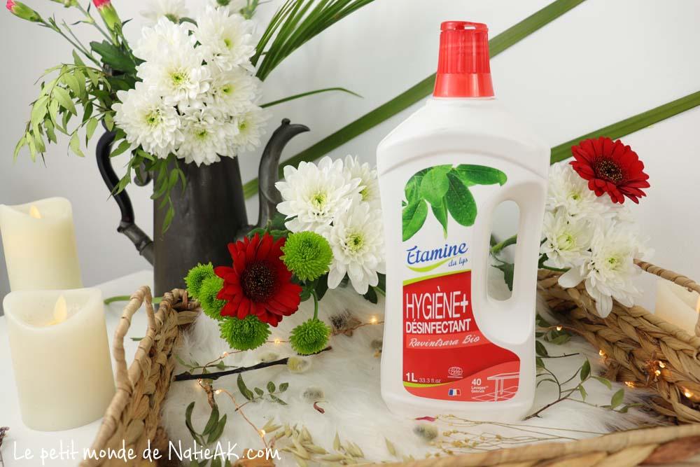 Etamine du Lys Hygiène + désinfectant ravintsara bio