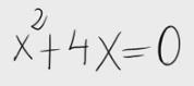 1. Ecuación de segundo grado sin fórmula 1