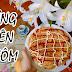 Cách làm bánh trứng mỳ tôm cực giòn ngon