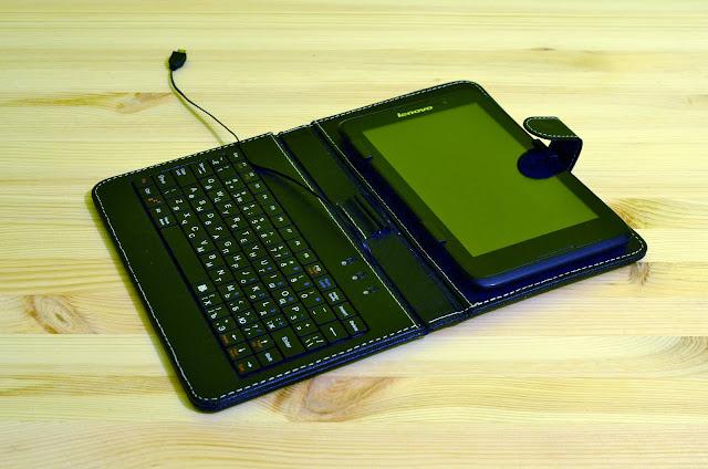 Чехол-клавиатура Vellini для планшетов 7''