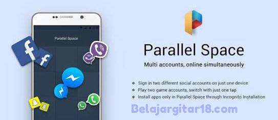 Cara membuat akun baru mobile menggunakan aplikasi parallel space